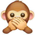 Monyet Jangan Berbicara yang Jelek WhatsApp