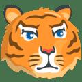 Wajah Harimau Messenger