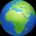 🌍 Globe Menampilkan Eropa Afrika Facebook