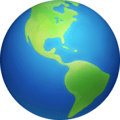 Globe Menampilkan Amerika Facebook