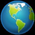 Globe Menampilkan Amerika WhatsApp