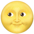 Wajah Bulan Purnama Apple