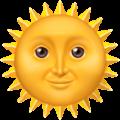 Matahari dengan Wajah Apple