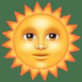 Matahari dengan Wajah WhatsApp