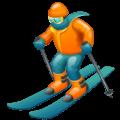 Pemain Ski WhatsApp