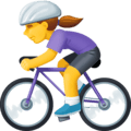 Wanita Bersepeda Facebook