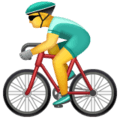 Orang Bersepeda WhatsApp