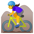 Wanita Naik Sepeda Gunung Google