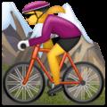 Wanita Naik Sepeda Gunung WhatsApp