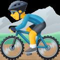 Pria Naik Sepeda Gunung Facebook