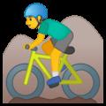Pria Naik Sepeda Gunung Google