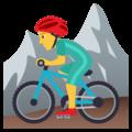 Pria Naik Sepeda Gunung