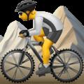 Orang Naik Sepeda Gunung Apple
