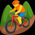 Orang Naik Sepeda Gunung Messenger
