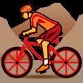 Orang Naik Sepeda Gunung