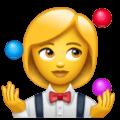 🤹♀️ Wanita Juggling WhatsApp