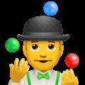 Pria Juggling Apple