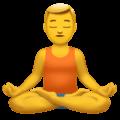 🧘♂️ Pria dalam Posisi Lotus Apple
