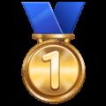 Medali Juara 1 WhatsApp