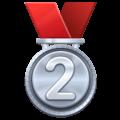 🥈 Medali Juara 2 WhatsApp