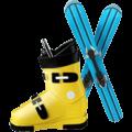 Sepatu Ski Apple