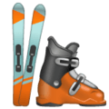 Sepatu Ski WhatsApp