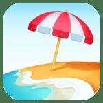 🏖️ Pantai dengan Payung Facebook