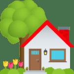 🏡 Rumah Dengan Taman JoyPixels