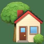 🏡 Rumah dengan Taman Apple