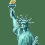 🗽 Patung Liberty Apple