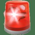 🚨 Lampu Mobil Polisi Apple