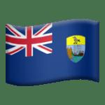 🇦🇨 Bendera Pulau Ascension Apple