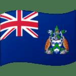 🇦🇨 Bendera Pulau Ascension Google
