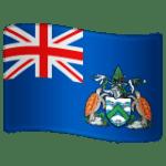 🇦🇨 Bendera Pulau Ascension WhatsApp