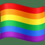 🏳️🌈 Bendera Pelangi Facebook