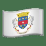 🇧🇱 Bendera Saint Barthelemy Apple