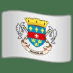 🇧🇱 Bendera Saint Barthelemy WhatsApp