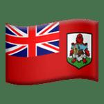 🇧🇲 Bendera Bermuda Apple