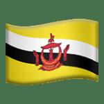 🇧🇳 Bendera Brunei Apple