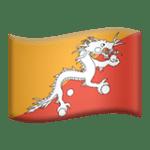 🇧🇹 Bendera Bhutan Apple