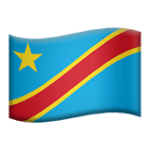 🇨🇩 Bendera Kongo Kinshasa Apple