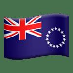 🇨🇰 Bendera Kepulauan Cook Apple
