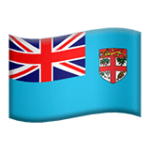 🇫🇯 Bendera Fiji Apple