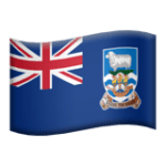 🇫🇰 Bendera Kepulauan Falkland Apple