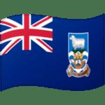 🇫🇰 Bendera Kepulauan Falkland Google