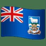 🇫🇰 Bendera Kepulauan Falkland WhatsApp